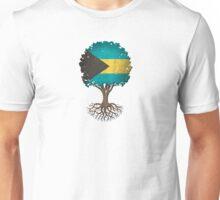 Tree of Life with Bahamas Flag Unisex T-Shirt
