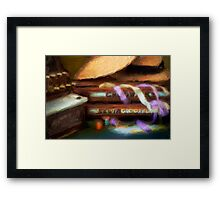 The Haberdasher - Painted Framed Print