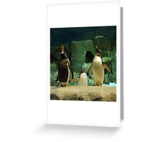 The Three Tenors Greeting Card