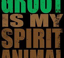 Groot is my Spirit Animal by Penelope Barbalios