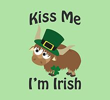 Kiss Me I'm Irish Yak by Eggtooth