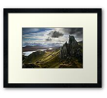 Ancient Pathways Framed Print