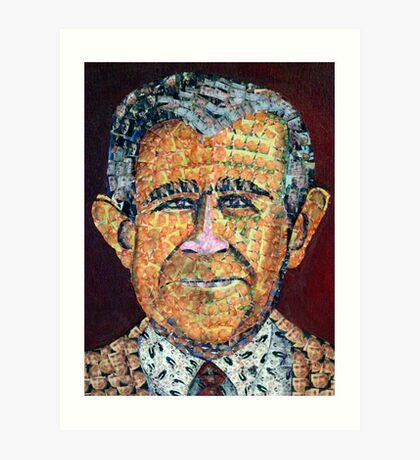 George Bush Art Print