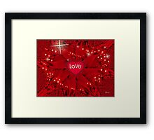 The Greatest of These Is Love Framed Print