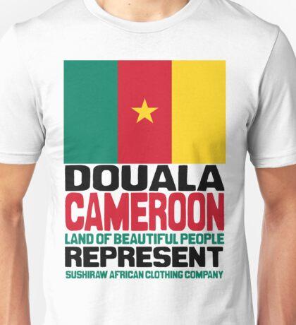 Douala Cameroon, represent Unisex T-Shirt