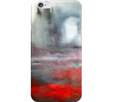 Soft Abstract in Black and White iPhone Case/Skin