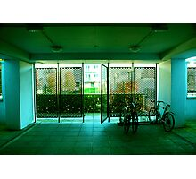 Bike Shed Photographic Print