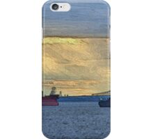 Delaware River Maritime 4  iPhone Case/Skin