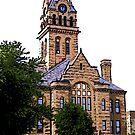 Church Tower by steelwidow