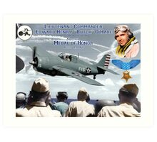 "Medal of Honor ""Butch"" O'Hare  Art Print"