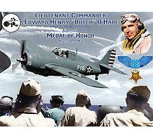"Medal of Honor ""Butch"" O'Hare  Photographic Print"