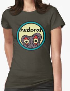 "Hedorah's ""Sick Smog World"" Womens Fitted T-Shirt"