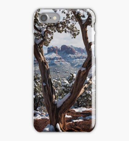Sedona, Az - Through the Juniper  iPhone Case/Skin