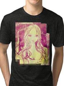 PORTRAIT 2011-2015 :GIRL Tri-blend T-Shirt