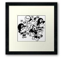 Mario Babies Framed Print