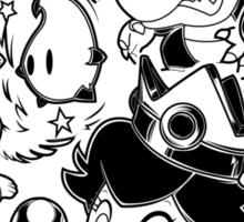 Mario Babies Sticker
