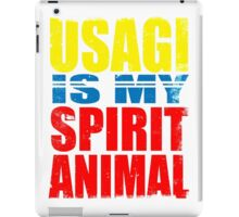 Usagi is my Spirit Animal iPad Case/Skin