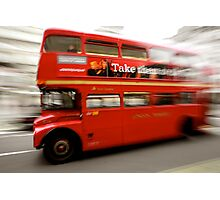 Routemaster on the Strand Photographic Print