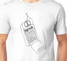 Serial Nisha Call Drawing Unisex T-Shirt