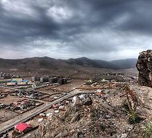 Hills of Ulaanbaatar by Christopher Meder