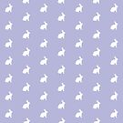 White Bunny Lavender by ThistleandFox
