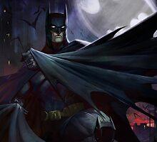 BATMAN by chocollama