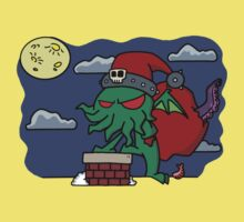 Cthulu Claus Kids Clothes