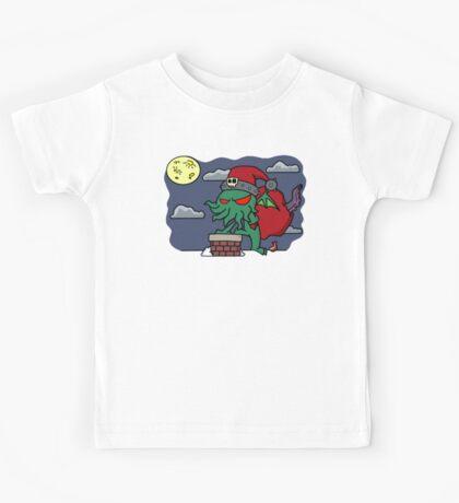 Cthulu Claus Kids Tee