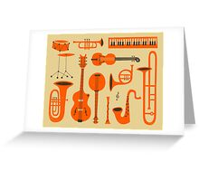 Just Jazz Greeting Card