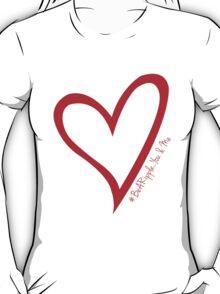 #BeARipple...You & Me. Red & White T-Shirt