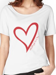 #BeARipple...You & Me. Red & White Women's Relaxed Fit T-Shirt