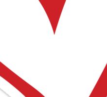 #BeARipple...You & Me. Red & White Sticker