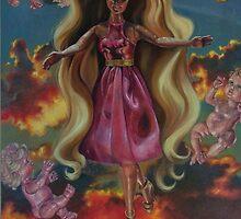 """Benevolent Barbie"" by Blue Reid"