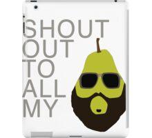 Pears.  iPad Case/Skin