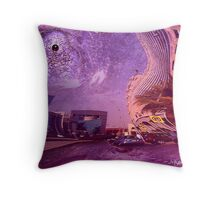 """""""end of the road..."""" Throw Pillow"""
