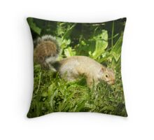 *SQUIRREL IN FRONT OF BLACKBERRY VINES* Throw Pillow