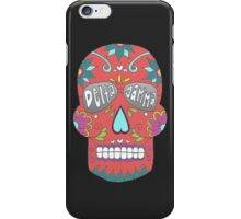 Delta Gamma Sugar Skull iPhone Case/Skin