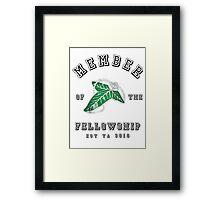Member of the Fellowship Framed Print