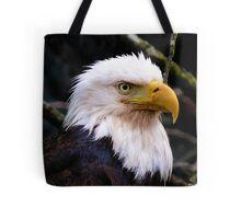 Portrait Of An Eagle III  Tote Bag