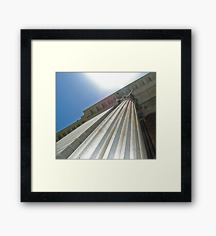 Colossal Column Framed Print