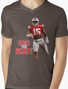 ZEKE the BEAST Mens V-Neck T-Shirt