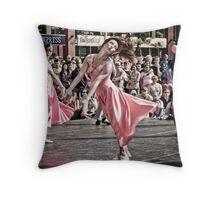 Urban moves Throw Pillow