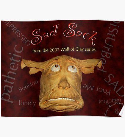 "WALL of CLAY: ""Sad Sack"" Poster"