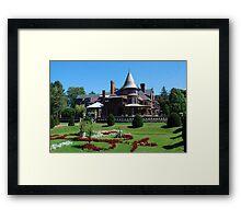 Sonnenberg Mansion Framed Print