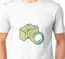 Camera DSLR Retro Unisex T-Shirt