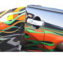 you got paint on my car Photographic Print