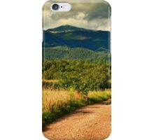 Landscape from Apuseni mountains iPhone Case/Skin