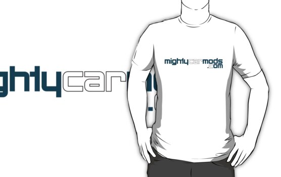 Mighty Car Mods - Simple Logo (for light shirts) by martinm