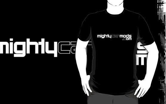 Mighty Car Mods - Simple Logo (for dark shirts) by martinm
