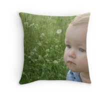 Summer Baby Throw Pillow